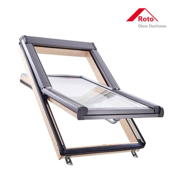 Designo R4 Schwingfenster aus Holz ohne WD-Block