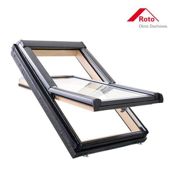 Designo R4 Schwingfenster aus Holz mit WD-Block