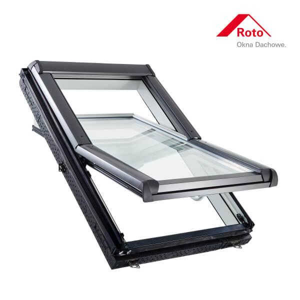 Designo R4 Schwingfenster aus Kunststoff mit WD-Block