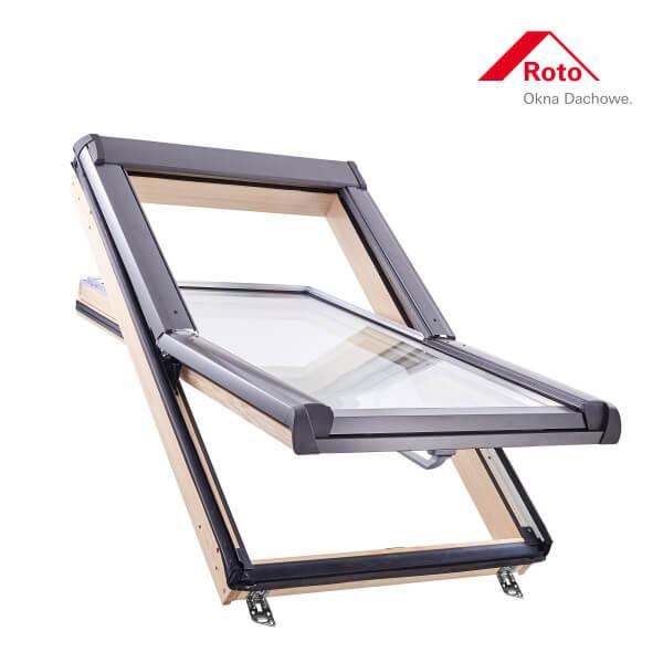 Designo R4 Schwingfenster aus Holz ohne WD